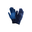 Ansell 78-203 Versatouch Blue Glove with Dotted Palm
