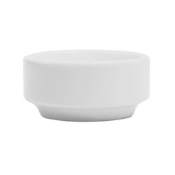 Bit On The Side Butter Dish Straight White 2.8cl
