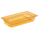 Gastronorm Container High Heat 1/3 100mm Amber