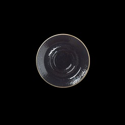 Steelite Craft Double Well Saucer Liquorice 14.5cm