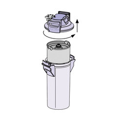 Brita Replacement Cartridge For Purity 1200