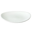 Orbit Coupe Plate Oval White 16 x 19.7cm