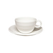 Essence Breakfast Cup Saucer For B9382 White 17.5cm