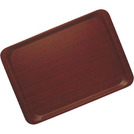 Laminated Mahogany Tray Mini 28 x 20cm