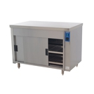 Premier HC3E Mobile Plain Top Eco Hot Cupboard