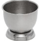 Egg Cup With Foot Stainless Steel Round