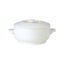 Simplicity Soup Bowl White Covered 42.5cl