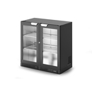 IMC F82/090B Bottle Cooler Double Door Black Door