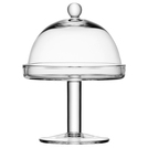 Vienna Cakestand & Dome 15/14 H20.5cm Clear