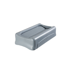 Slim Rectangular Lid Swing Lid Grey