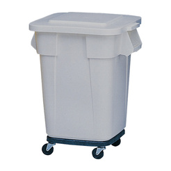 Brute Square Containers Grey151.4ltr