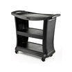 Rubbermaid Executive Trolley 3 Tier Black Frame