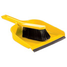 Dustpan With Brush Yellow