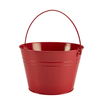 Stainless Steel Serving Bucket 25cm Red