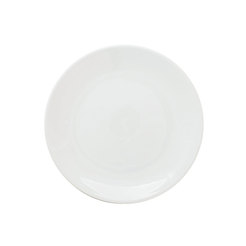 Great White Coupe Plate 8.5 inch 22cm