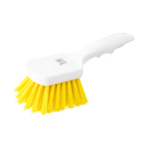 Utility Yellow Scrub Brush 8.5 inch 21.5cm