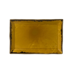 Harvest Mustard Rectangular Tray 28.7 x 19cm