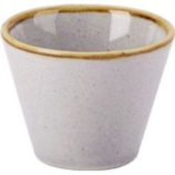 Stone Conic Bowl 5.5cm 2.25in 5cl 1.75oz