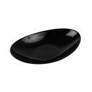 Black Melamine Reef Low Dish 60ml