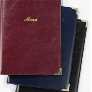 Menu Covers, Bill Presenters & Inner Sleeves Category Image