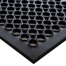 Interlocking Floor Matting Black