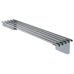 Simply Stainless 2400mm Piped Wall Shelf