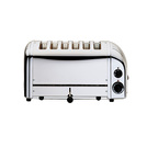 Dualit Stainless steel 6 Slot Toaster 3kw