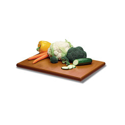 Prepara Chopping Board Brown Poly 61 x 44 x 2cm