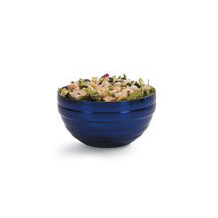 Blue Round Insulated Serving Bowl 3.2 Litre