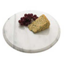 Cheese Board Grey Marble Round 30cm Cheese Service