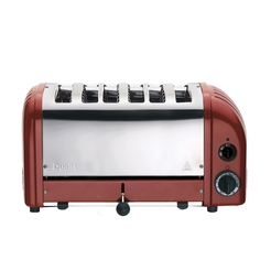 Dualit 60154 6 Slot Vario Toaster - Red