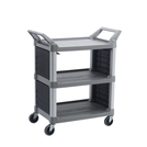 Utility Service Cart Platinum Solid End