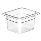 Gastronorm Container Poly 1/6 100mm Clear