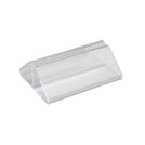 Tent Menu Holder Clear Perspex 7cm
