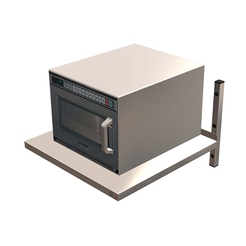 Quick Service Microwave Shelf Med.Duty 600 x 600mm