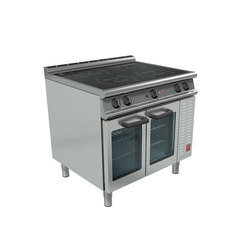 Dominator Plus E3914i Induction 4Zone 1/1 Oven Range