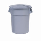 Brute Round Containers Grey 121ltr