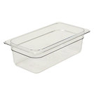 Gastronorm Container Poly 1/3 100mm Clear