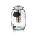Beehive Glass Beverage Dispenser