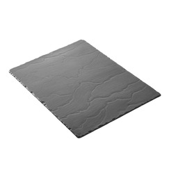 Basalt Trays Rectangular Slate Effect 30 x 40cm