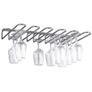 Wire glass rack 6mm chrome plated
