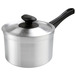 Saucepan Medium Duty Alum 3ltr 18cm With Lid