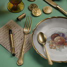 Settecento Alchemy Gold Table Spoon