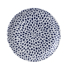 Terrazzo Blue Coupe Plate 10.25in