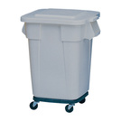 Brute Square Containers Grey 106ltr
