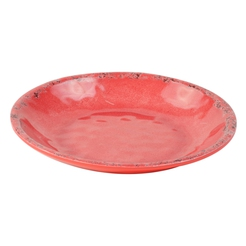 Red Casablanca Melamine Salad Bowl 345ml