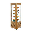 Freezer Display Cabinet Rotating Gold