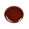 Terra Stoneware RusticRed Oval Plate 29.5 x 26cm