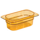 Gastronorm Container High Heat 1/9 100mm Amber