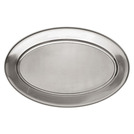Meat Flat Stainless Steel Oval 41 x 61cm